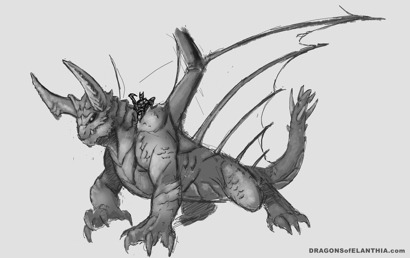 sketch of early behemoth concept